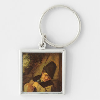 A Peasant Holding a Jug and a Pipe, c.1650-55 Keychain