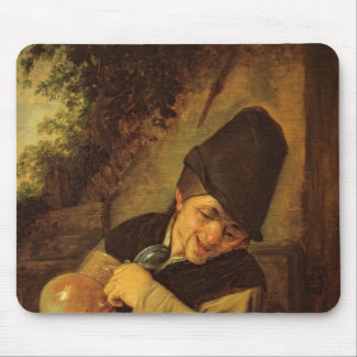 A Peasant Holding a Jug and a Pipe, c.1650-55 Mouse Pad