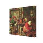 A Peasant Meal Gallery Wrapped Canvas