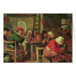 A Peasant Meal Greeting Cards
