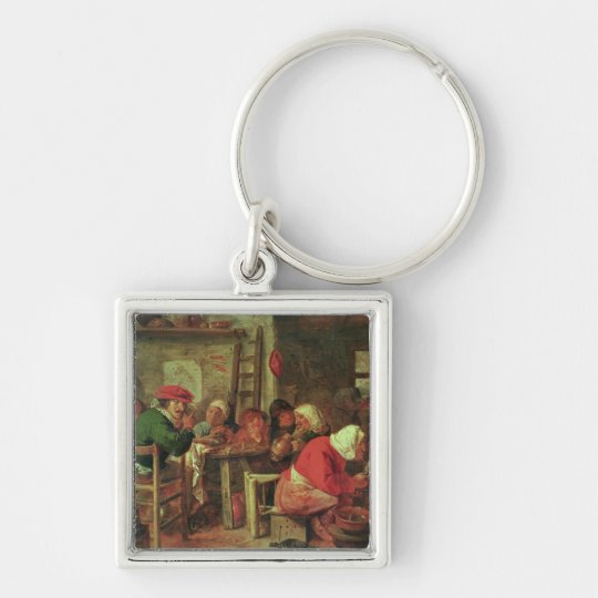 A Peasant Meal Keychain