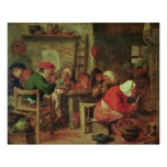 A Peasant Meal Poster