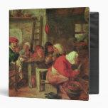 A Peasant Meal Vinyl Binder