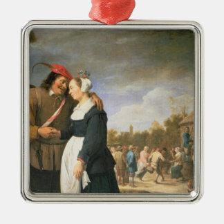 A Peasant Wedding 1648 Christmas Ornaments