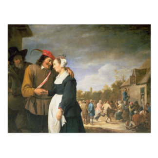 A Peasant Wedding, 1648 Post Card