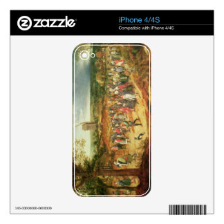 A Peasant Wedding Decals For iPhone 4