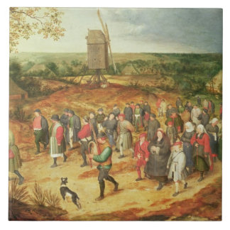 A Peasant Wedding Tile