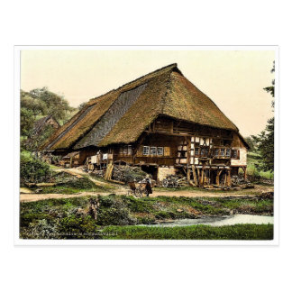 A Peasant's house, Black Forest, Baden, Germany ra Postcard