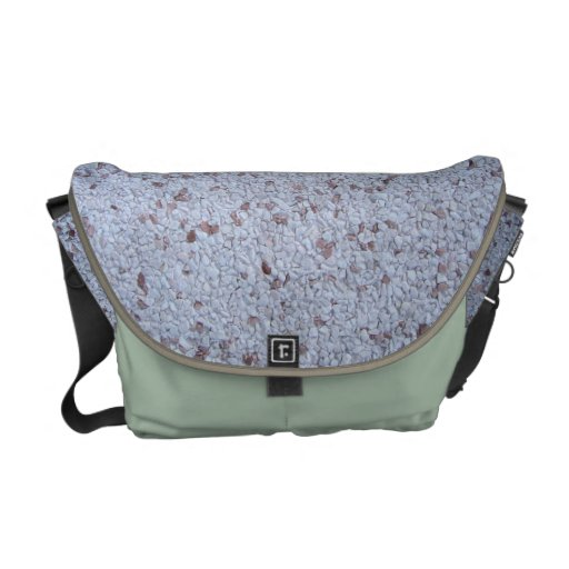 A Pebble For Your Thoughts Courier Bags