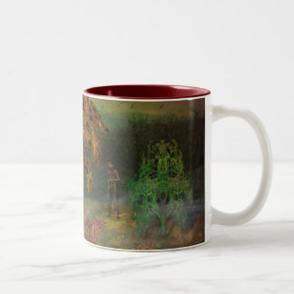 A Peculiar Place Two-Tone Coffee Mug