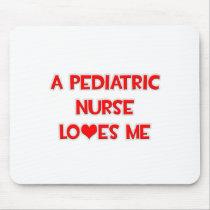 A Pediatric Nurse Loves Me Mouse Pads