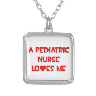 A Pediatric Nurse Loves Me Personalized Necklace