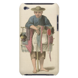 A Pedlar, plate 17 from 'The Costume of China', en Barely There iPod Case