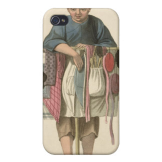 A Pedlar, plate 17 from 'The Costume of China', en Covers For iPhone 4