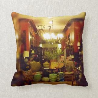 A Peek Inside Webster House Kansas City Throw Pillow