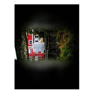 A Peek Through The Fence Postcard