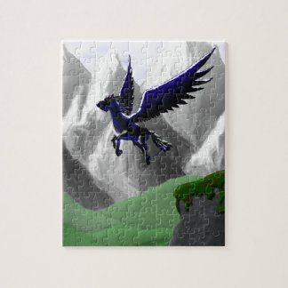 A Pegasus Flying Jigsaw Puzzle