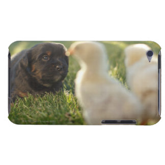 A Pekinese puppy on the grass. iPod Touch Case