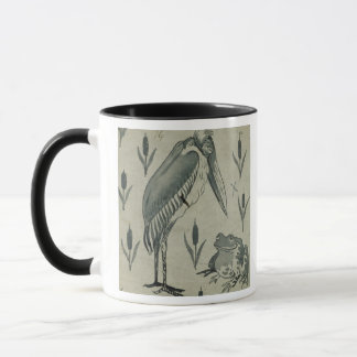A Pelican and Frog in Conversation (w/c on paper) Mug