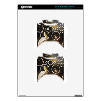 A Pelican and Other Birds Near a Pool Xbox 360 Controller Decal