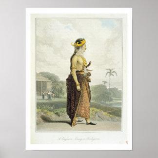 A Peng'anten Lanang or Bridegroom, plate 19 from V Print