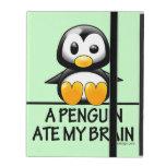 A Penguin Ate My Brain iPad Cover