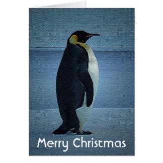 A Penguin Christmas Card