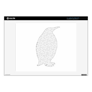 """A Penguin Decals For 14"""" Laptops"""
