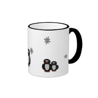 A Penguin Family Mug