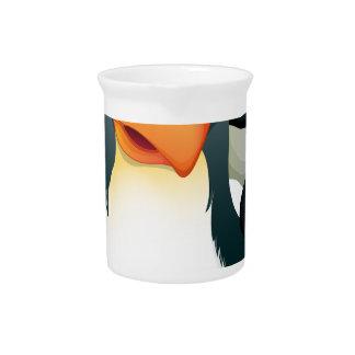 A penguin beverage pitchers