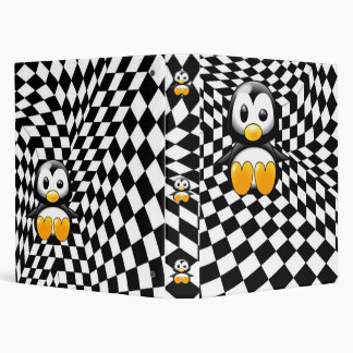 A Penguin s Checkered Nightmare Binder