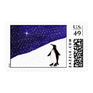 A Penguin's Christmas wish... Postage
