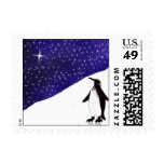 A penguin's Christmas Wish Stamp
