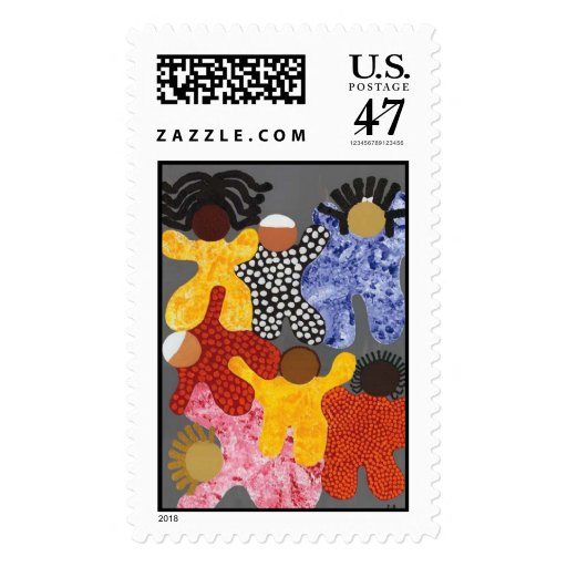 A People United Stamp