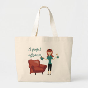 A Perfect Afternoon Book Tote bag