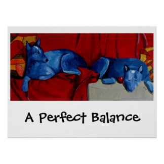A Perfect Balance Poster