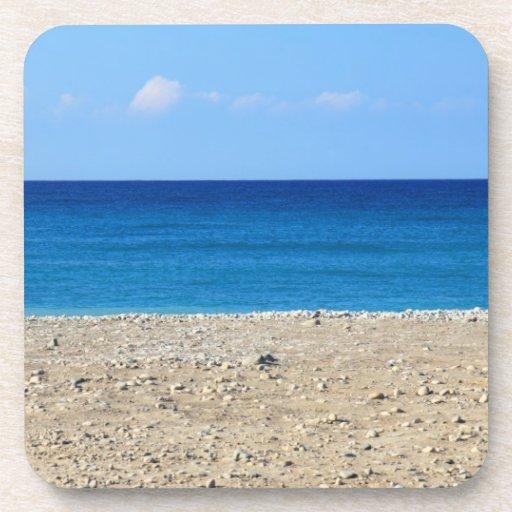 A Perfect Beach Drink Coaster