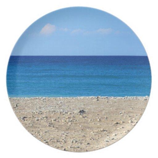 A Perfect Beach Plates