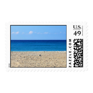 A Perfect Beach Postage Stamp