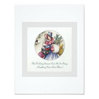 A perfect Christmas Tea Invitation... Card
