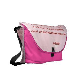 A Perfect Circle Messenger Bag