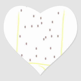 A perfect day heart sticker