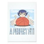 "A Perfect Fit 5"" X 7"" Invitation Card"