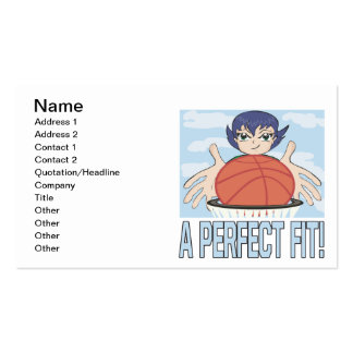 A Perfect Fit Double-Sided Standard Business Cards (Pack Of 100)