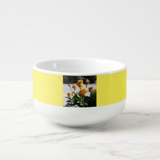 A perfect floral print Soup Mug