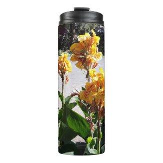 A perfect floral print Thermal tumbler
