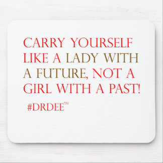 A perfect gift for a lady! mouse pad