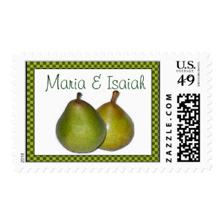 A perfect pair postage stamp