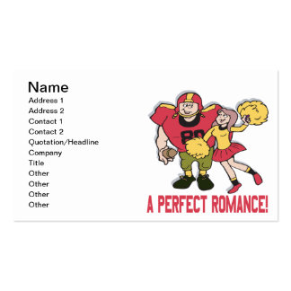 A Perfect Romance Double-Sided Standard Business Cards (Pack Of 100)