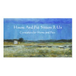 A Perfect Storm Abstract Art Landscape Painting Business Card